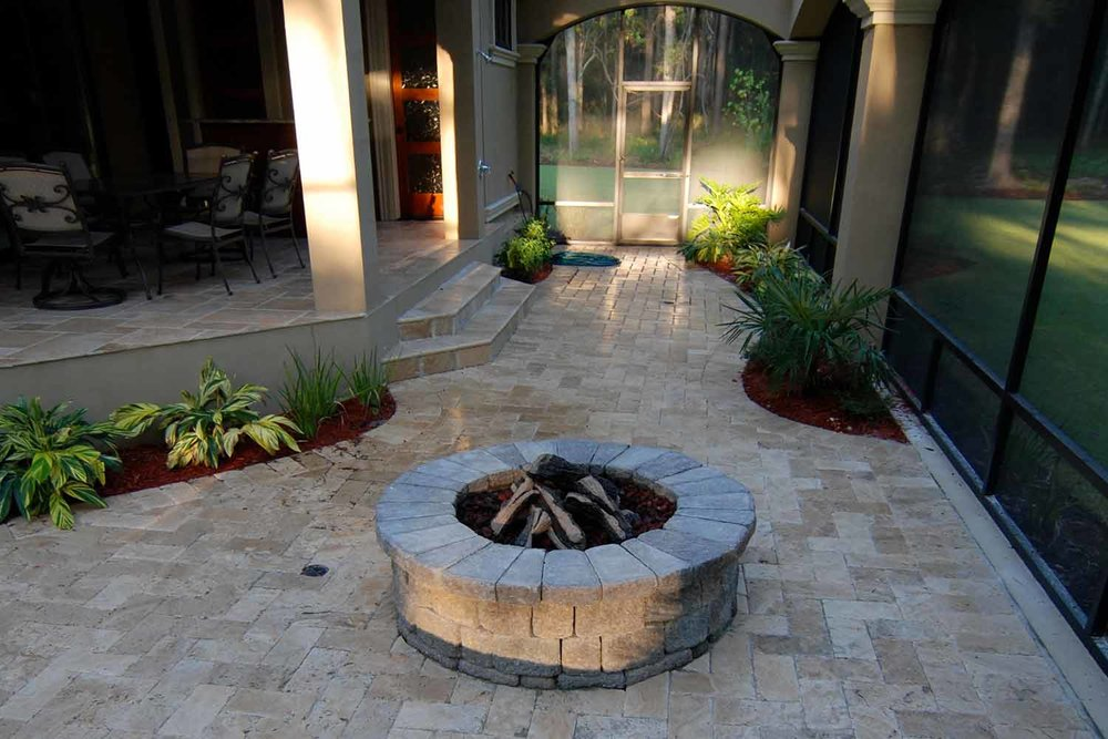 Fire Pit Design and Installation Bluffton SC