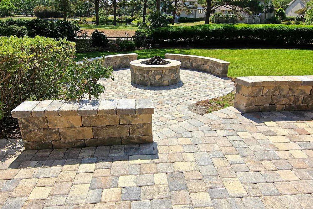 Paver Retaining Wall Ideas Bluffton SC