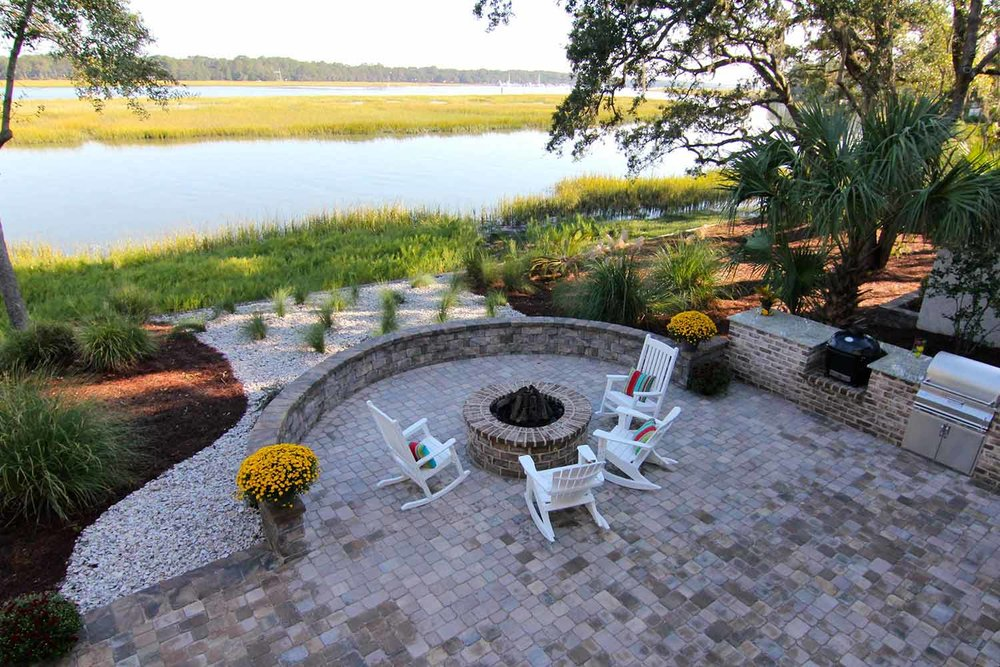 Brick Paver Retaining Wall Builders Hilton Head Island SC
