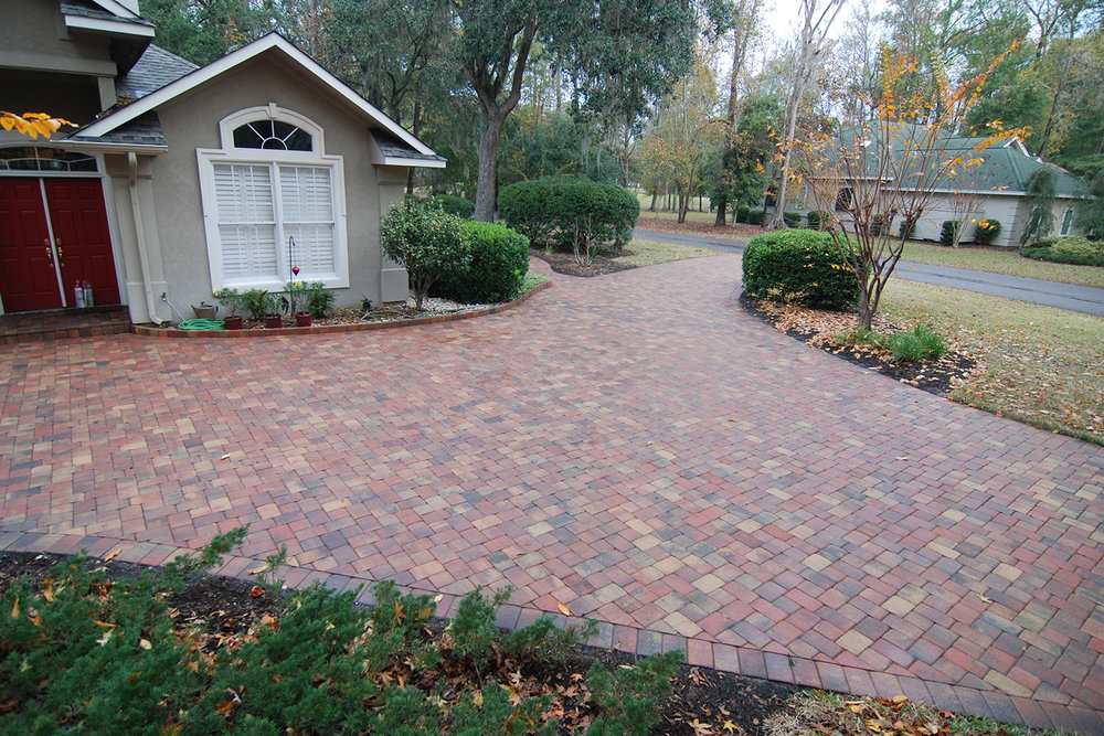 Installing Cobble Driveways Bluffton SC