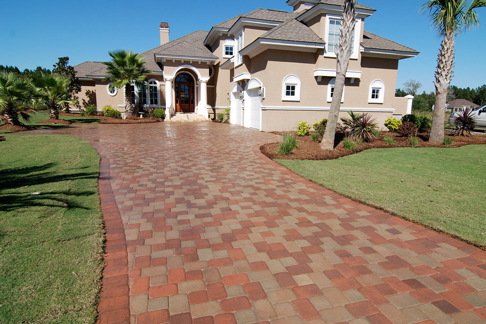 Interlocking Brick Pavers Beaufort SC