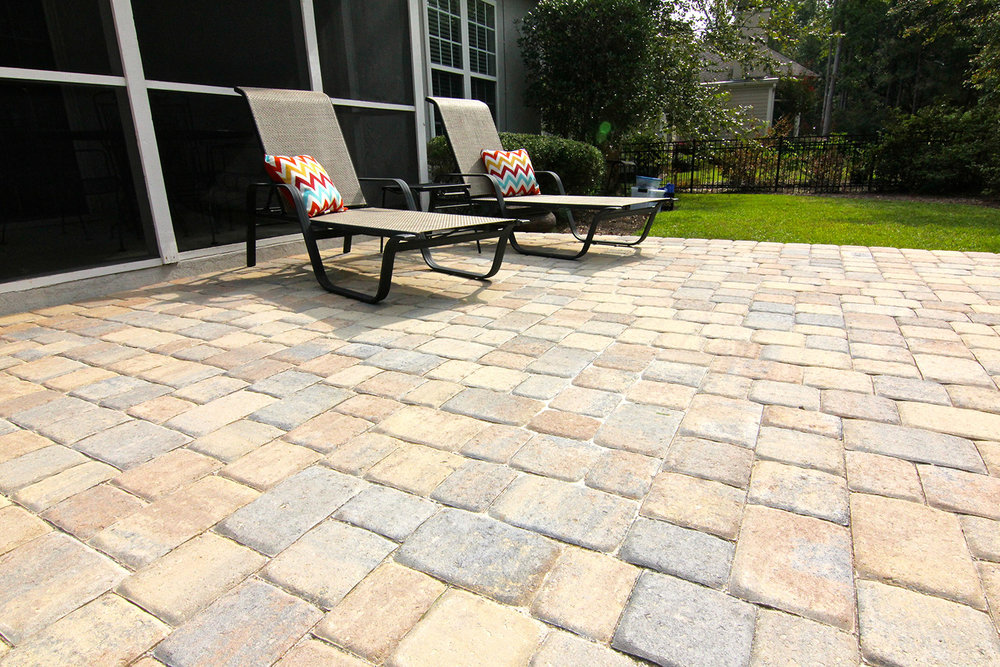Cobble Paver Patio Contractor Hilton Head Island SC