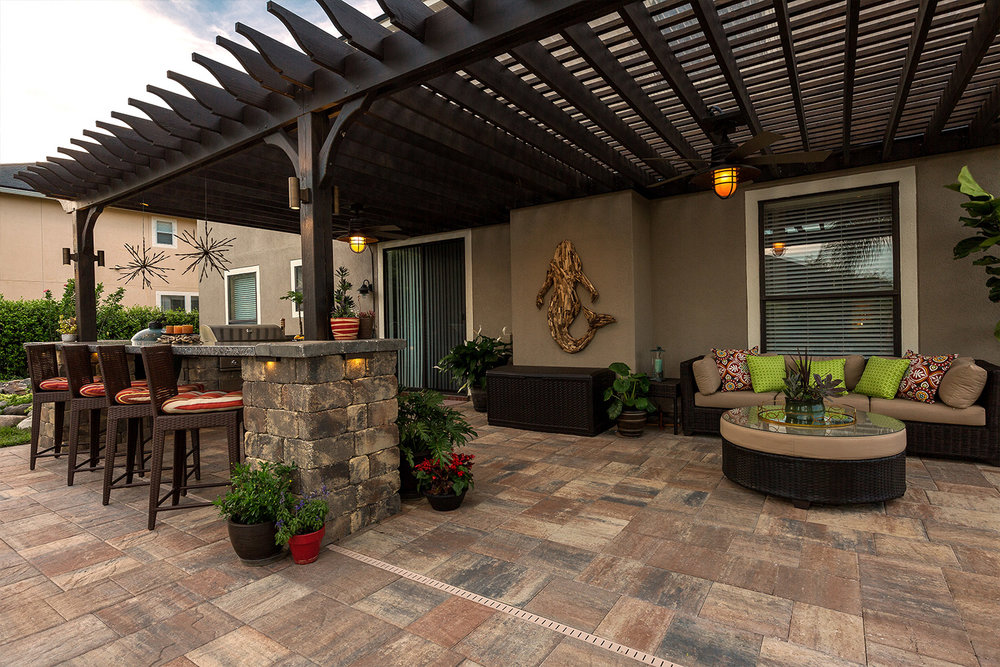 Outdoor Patio Paver Installation Ideas Bluffton SC