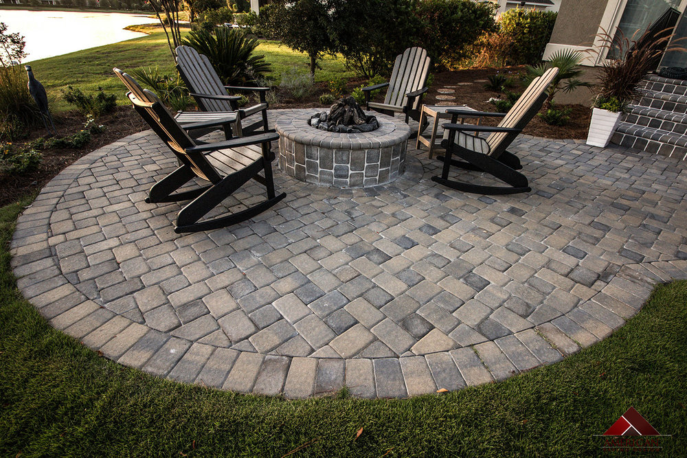 Small Paver Patio Design Space Bluffton SC