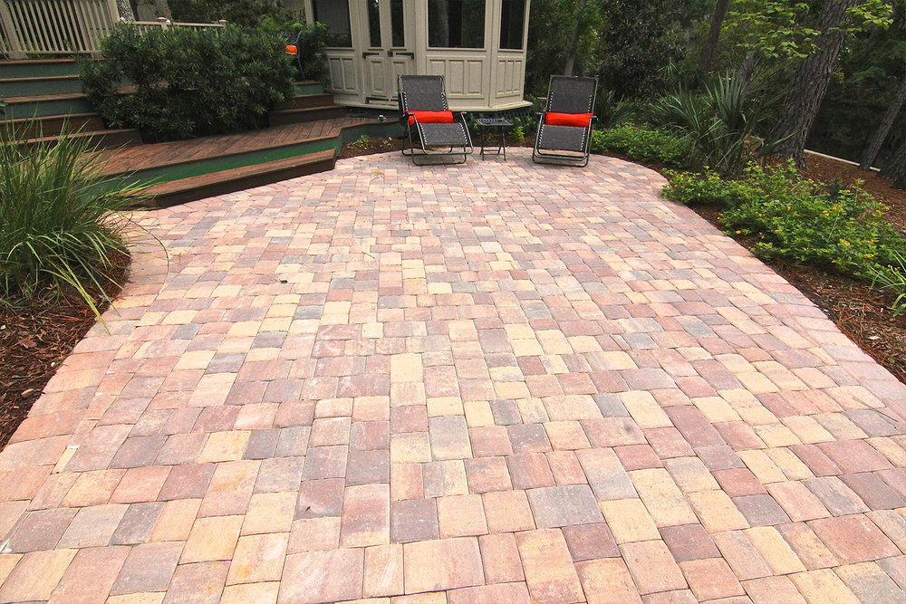 Interlocking Paver Patio Contractor Hilton Head Island SC