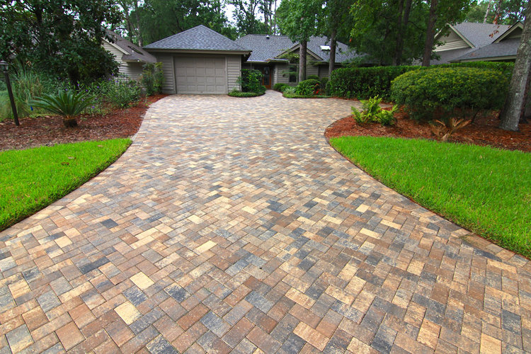 Driveways Paver Patterns American Paving Design Magnificent Herringbone Brick Pattern