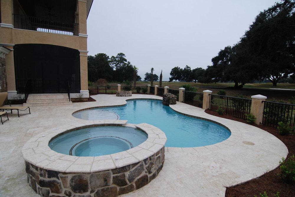 Pool Paver Design Hilton Head Island SC