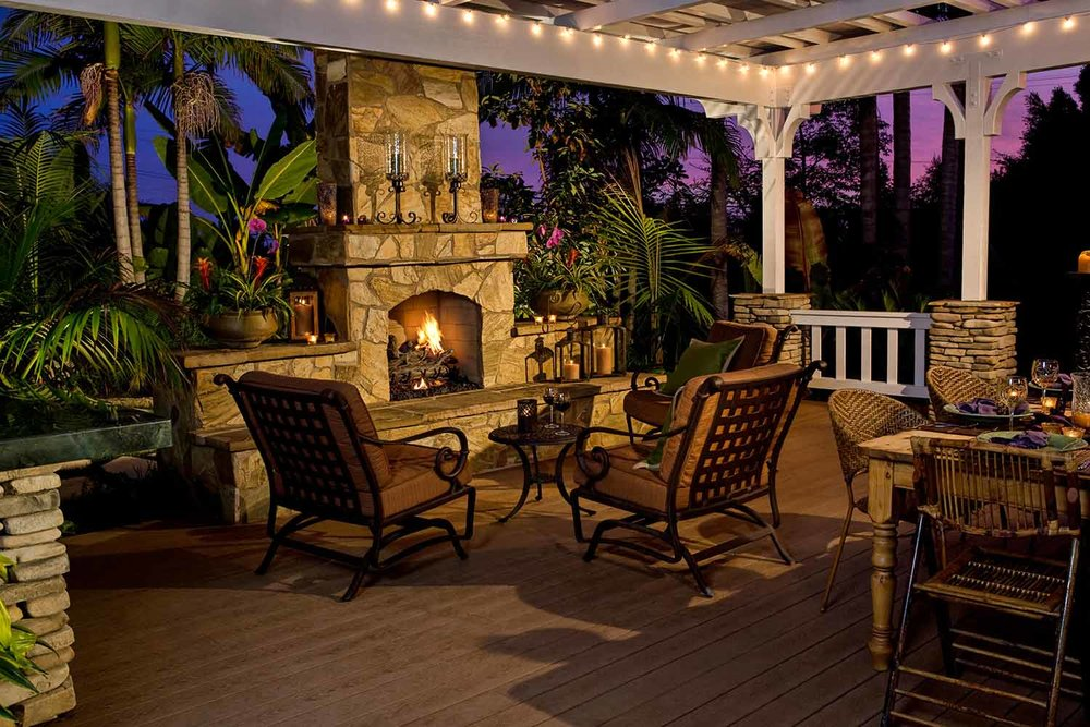 Outdoor Fireplace Paver Installation Bluffton SC