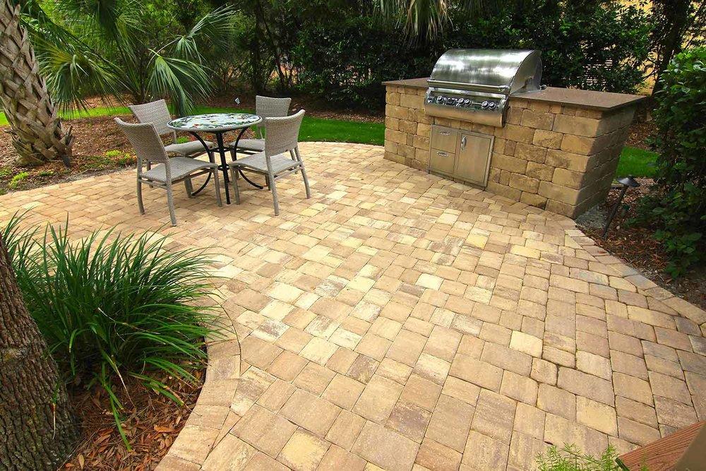 Outdoor Kitchen Stone Design Hilton Head Island SC