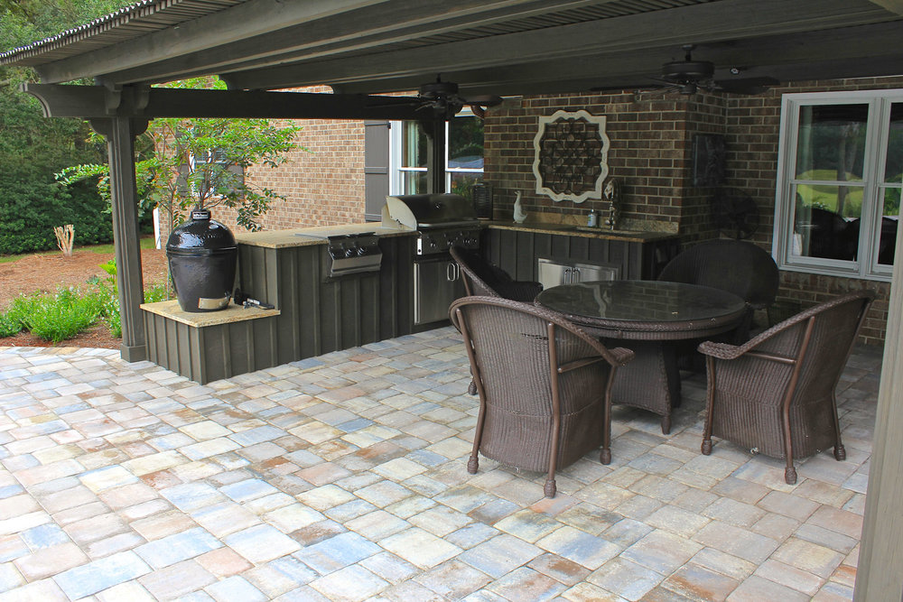 Paver Outdoor Kitchen Cost Bluffton SC