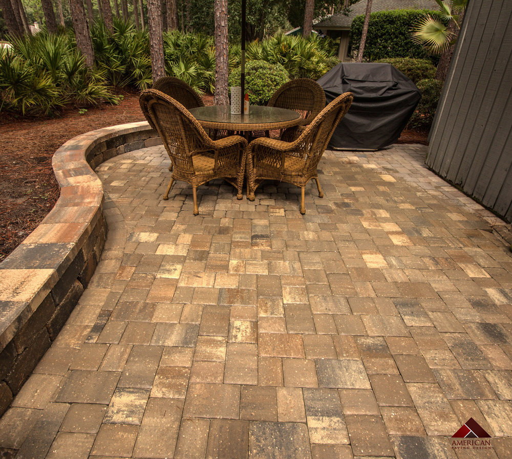 Backyard Brick Paver Installer Hilton Head Island SC