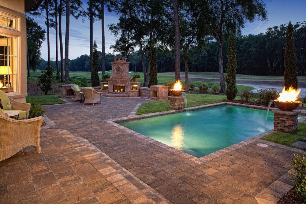 Paver Pool Remodel Design Ideas Hilton Head Island SC
