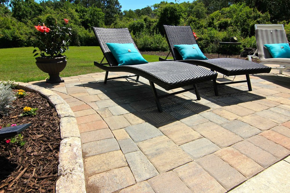 Completed new paver pool deck