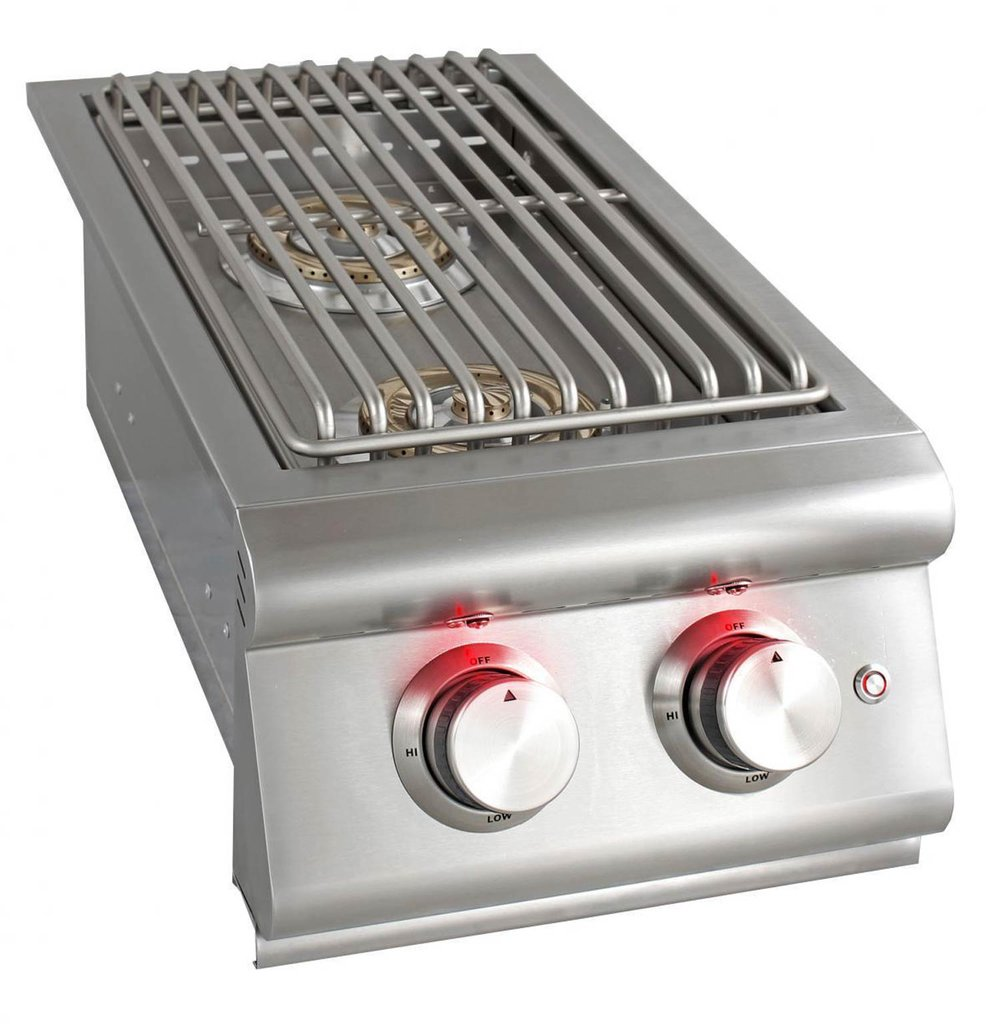 Cook your main meal and side dishes ready at the same time with a side burner.