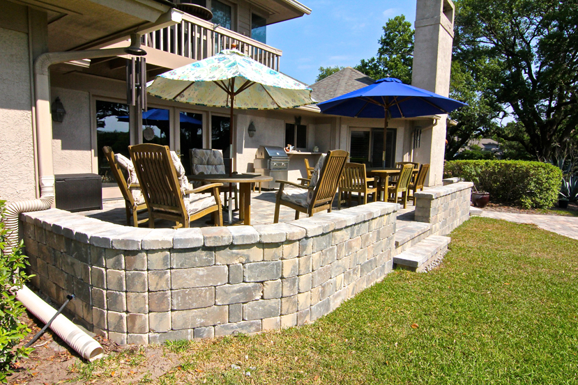 AFTER: An outdoor space that is sturdy, beautiful, and perfect for entertaining!