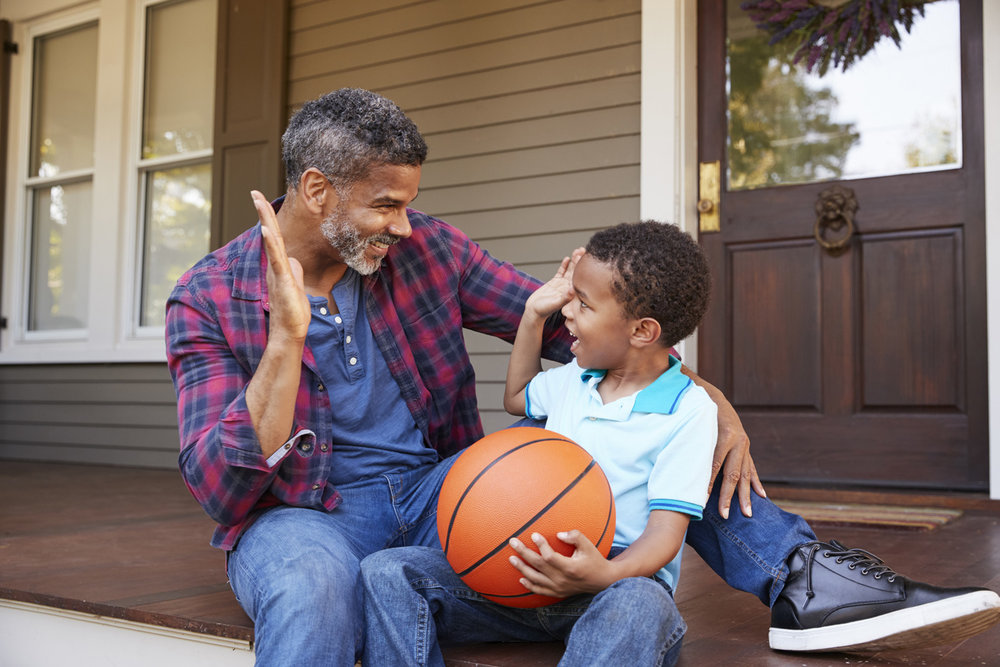 Plan ahead if basketball is a family sport!