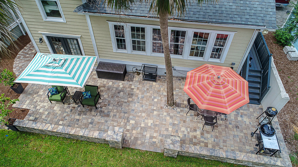 The view of this patio is beautiful no matter which way you look at it!