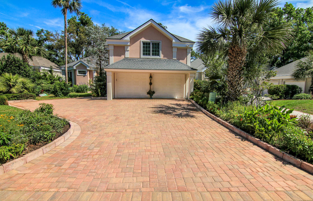 Traditional Brick Paver Driveway Cost Bluffton, SC