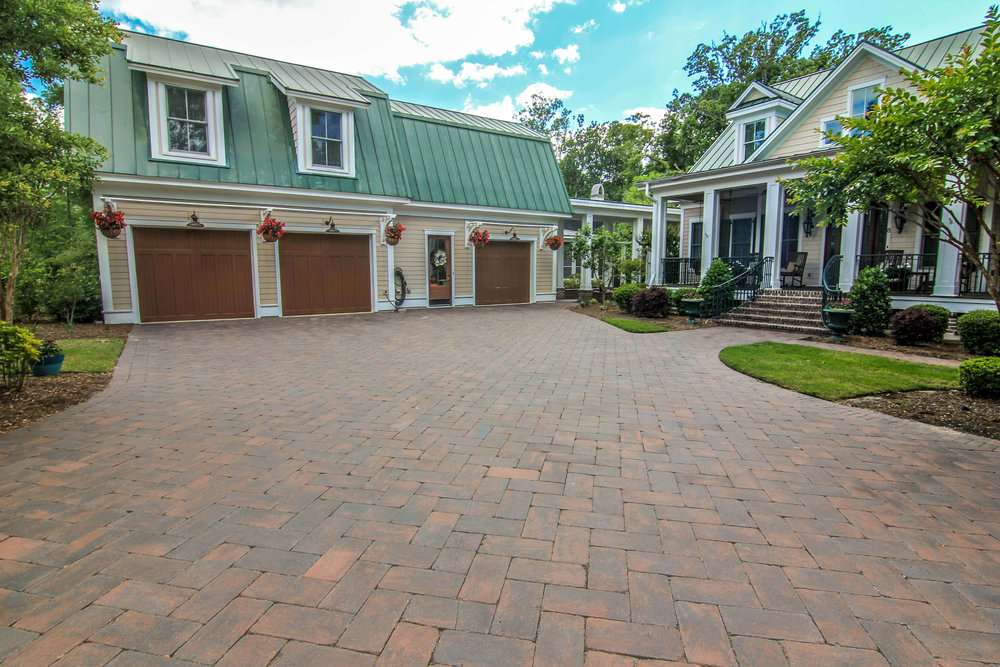 Simple Brick Paver Driveway Ideas for your home - Hilton Head Island, SC