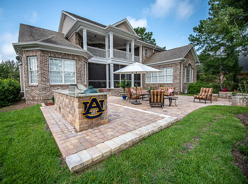 Paver Patio Backyard Installation and Design Ideas