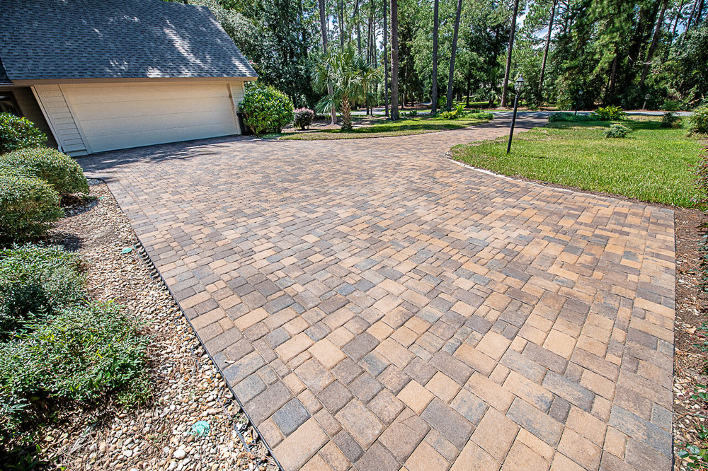 Large Paver Driveway Installation Benefits  - Hilton Head Island, SC