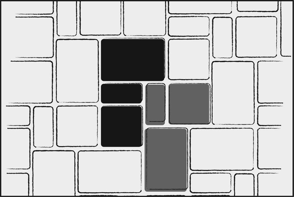 - 3 Piece Pattern B