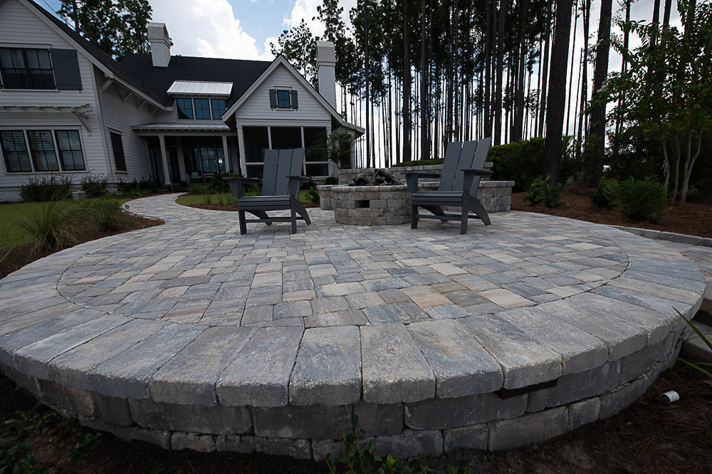 Circular Paver Patio Design