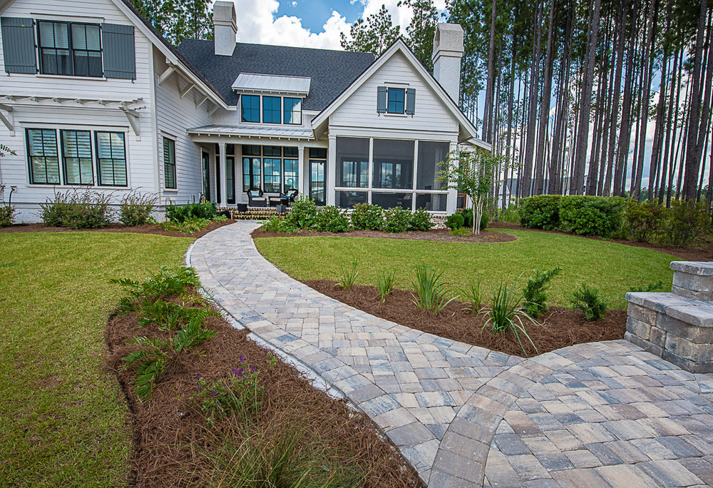 Backyard Paver Design Pictures
