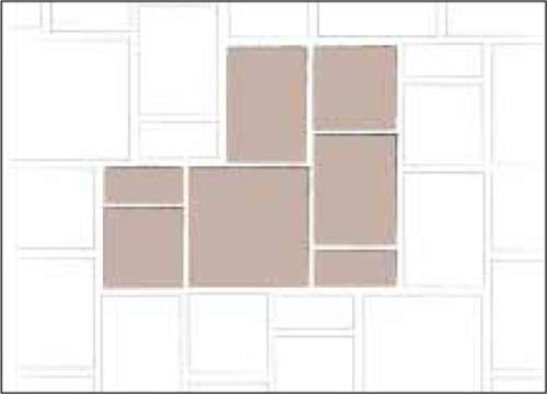 3 PC and Large Square A