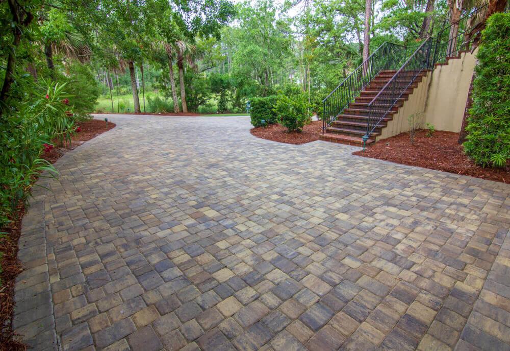 Brick Paver Driveway Design Ideas - Bluffton, SC