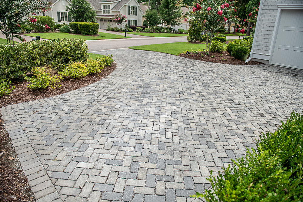 Permeable Paver Driveway Ideas - Bluffton, SC