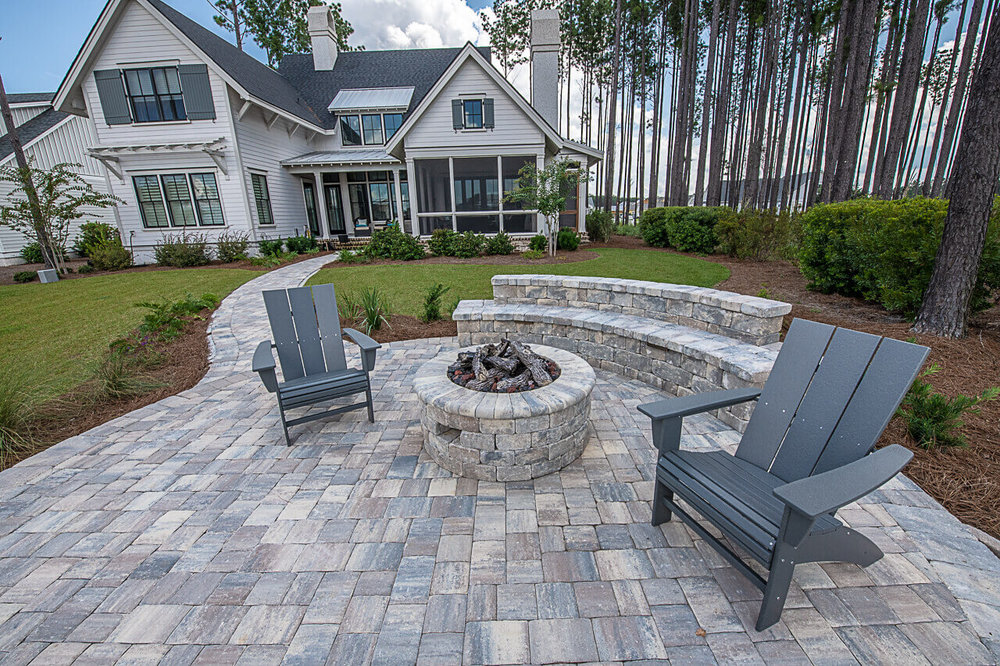 Paver Patio Design Ideas - Bluffton, SC