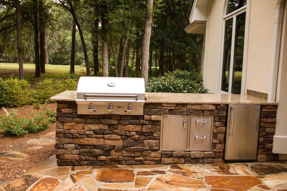 Outdoor Kitchen Design Hilton Head Island, SC