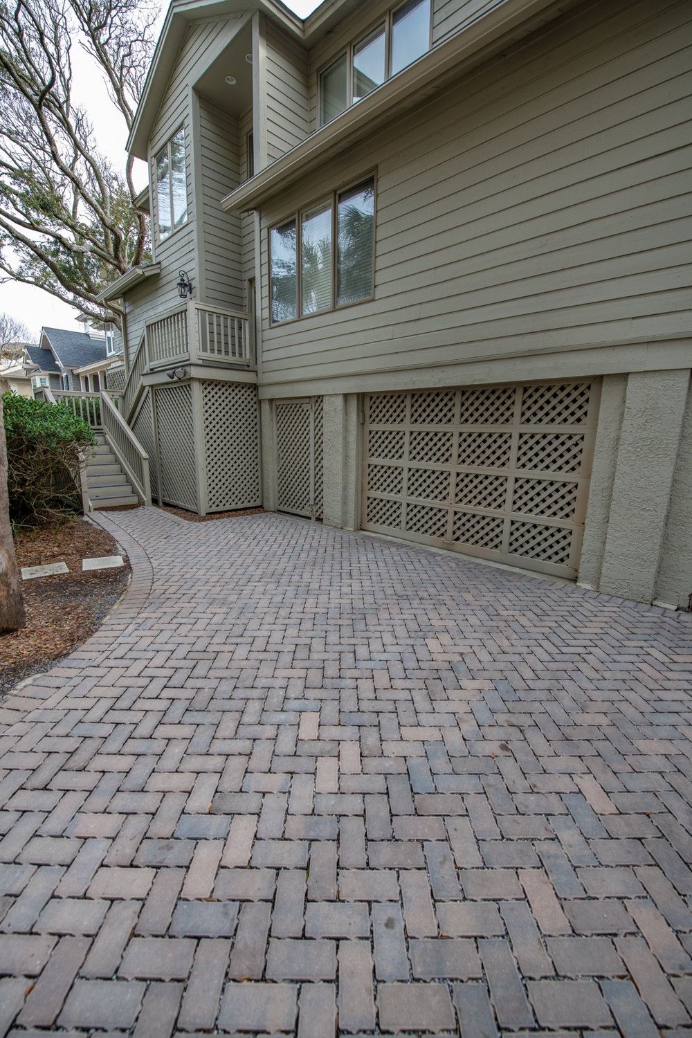 Lots of puddling in your Driveway? Install    Permeable Pavers   ! These Eco-Friendly pavers help with storm water run-off, offer superior permeability and of course - beautification!