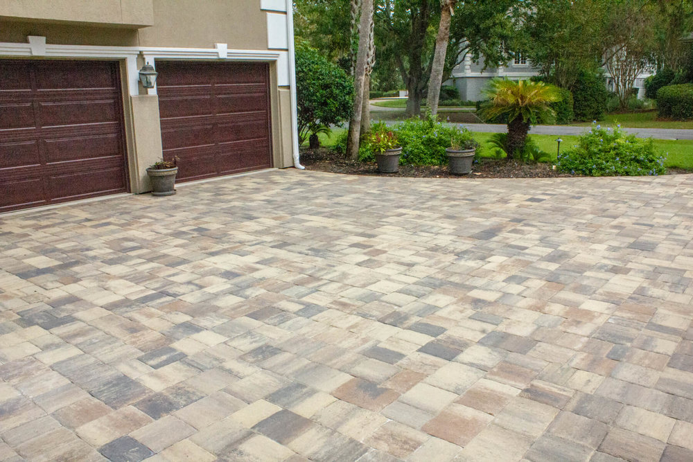 Paver Driveway Design - Hilton Head Island & Bluffton, SC