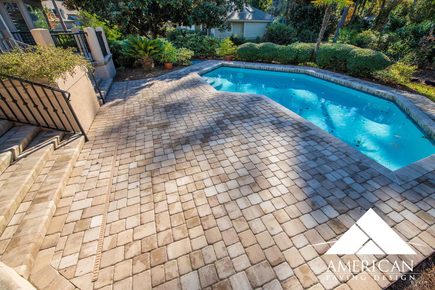 Swimming Pool Remodeling ideas | Paver Pool Deck ...