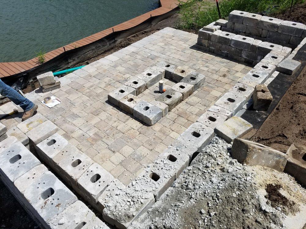 Tremron Retaining Wall Block Design