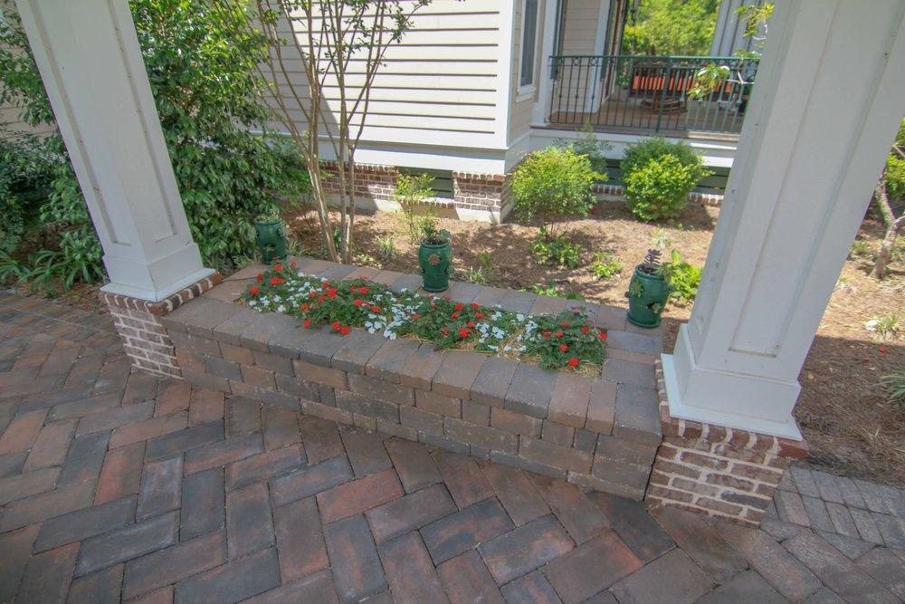 Copy of Brick Paver Planters & Patio Ideas