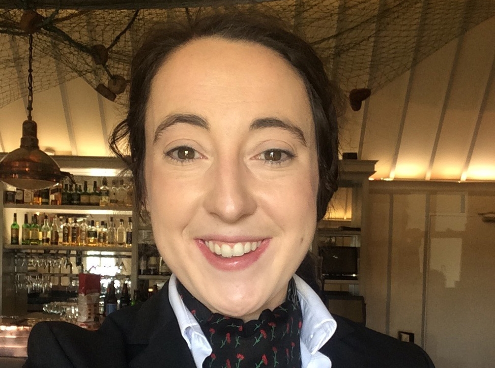 Fact File - Name: Sinead Delaney Job: Restaurant Manager Works: Cullen's at the Cottage, Ashford Castle, Galway  Course: BSc (Hons) International Hospitality Management at DIT