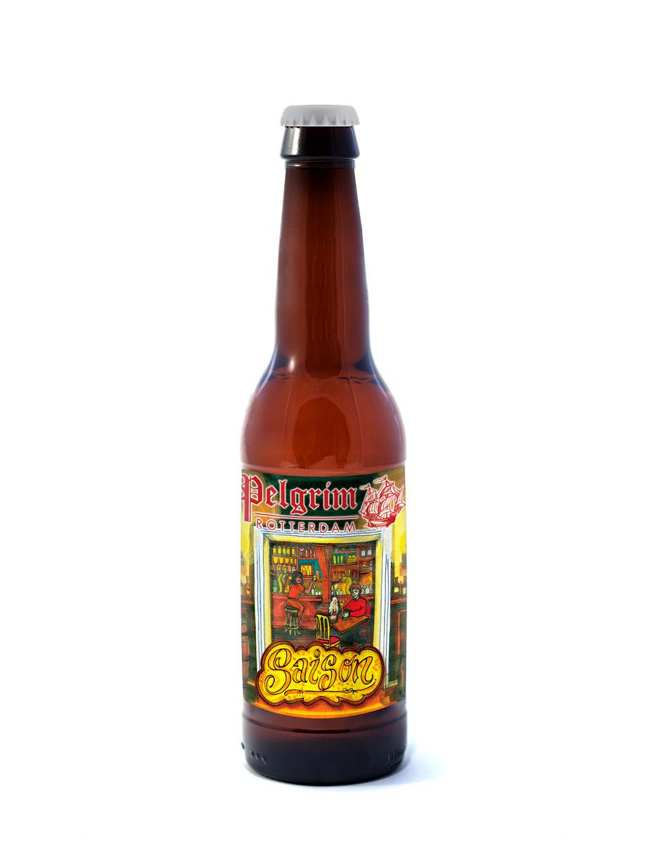 SAISON       Een heerlijk dorstlessend en droog bier met een mooie blonde kleur.     6% | EBC 8 | EBU 34