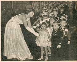 Utklipp fra Alle Kvinner, 1951.