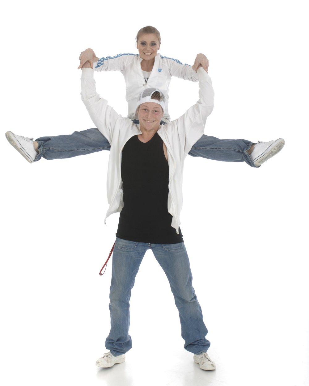 Ole Petter og Marit er instruktører i bl.a. HIP HOP, streetjazz, showdans og breaking