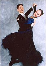 Eirik og Monika Nydal Adolfsen ble nordiske mestere i 2002.