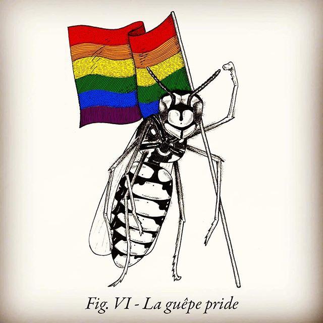 ENCYCLOPAEDIA #2 by Félix Pommier  ulule.com/encyclopaedia  30 animaux que la science vous a toujours cachés.  PRÉ-COMMANDEZ LE DEUXIÈME TOME SUR ULULE AVANT LE 22 OCTOBRE  #ink #handdrawing #jeudemot #animalier #encyclopedie #crowdfunding #ulule #science #pride #gaypride #gaype #livre #zoo #lgbt #lgbtq
