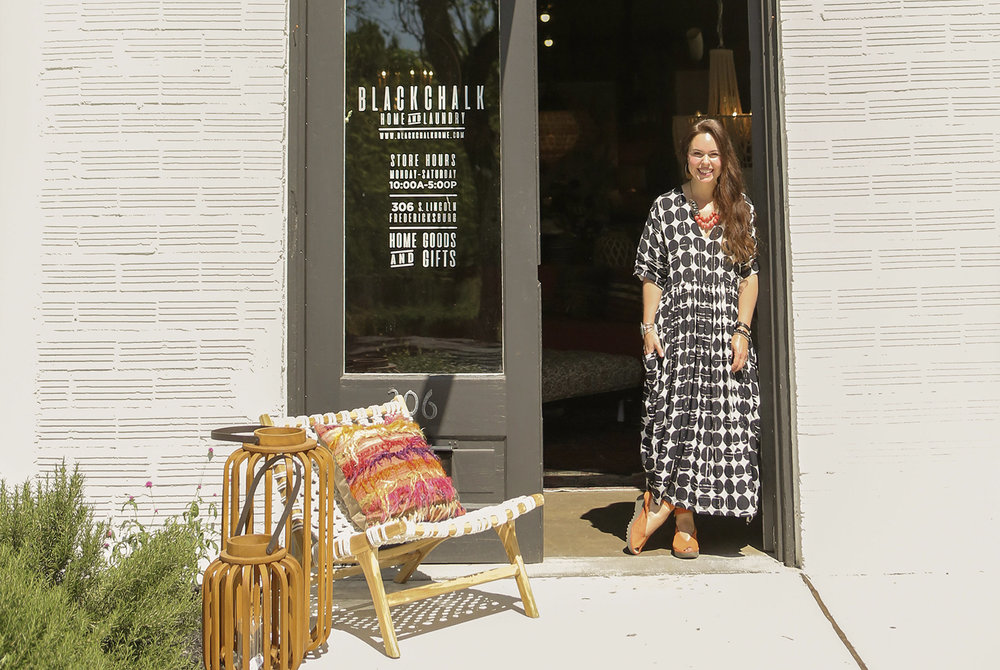MEET JILL. - Haberdashery Boutique owner. Blackchalk Home and Laundry owner.  Entrepreneur- but didn't plan that.  Mom of 2, wife to 1, explorer, seeker and friend.
