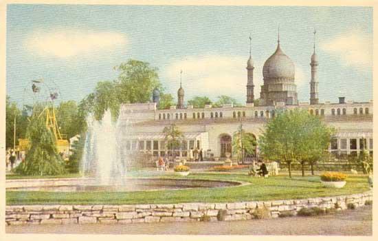 Malmö. Folkets Park, Moriska Paviljongen
