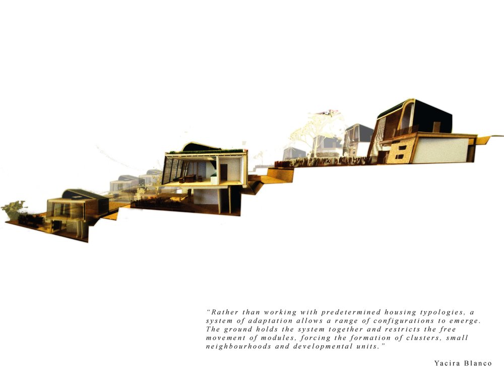 Organic Living_Type A_Physical Model Section 1-100 detailed terraced section.jpg