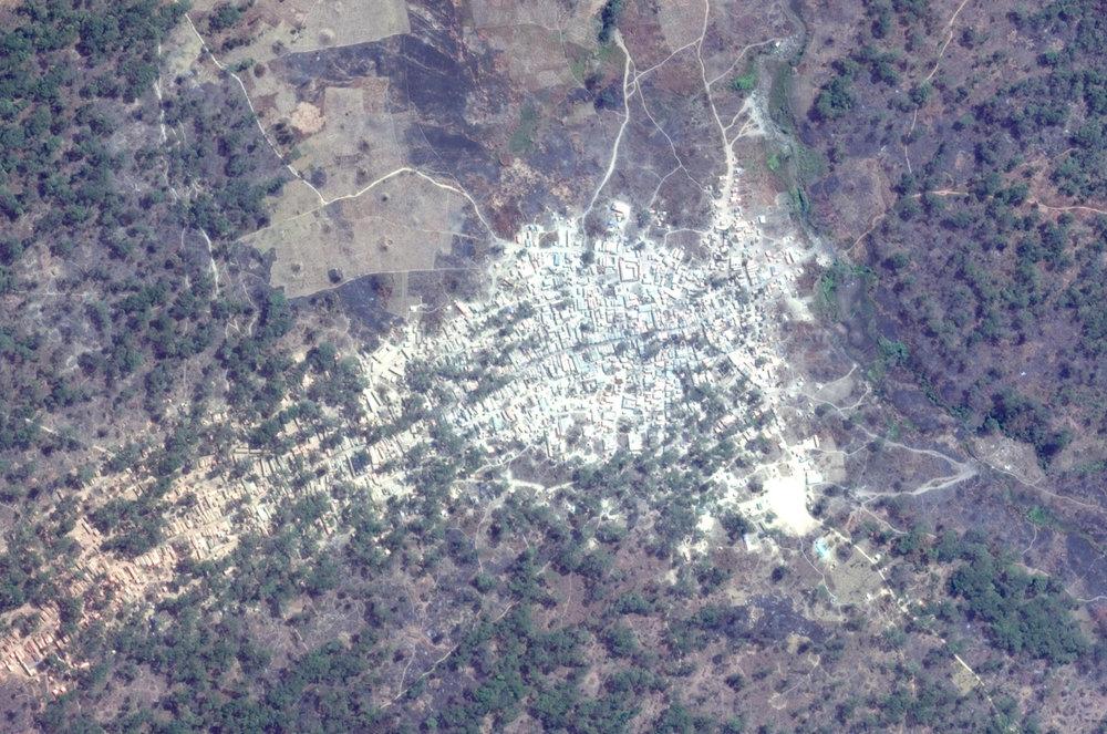Site 2 Google Earth Satellite Plan