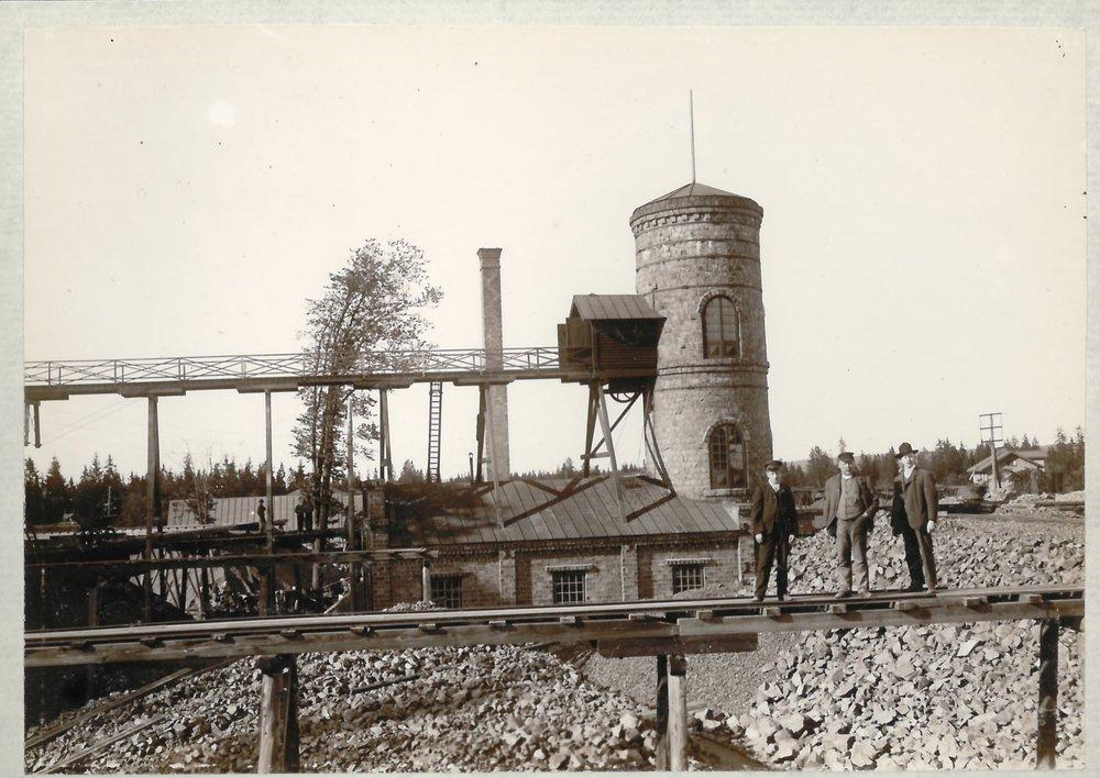 Klackberg mine field, Norberg , Sweden ca. 1910