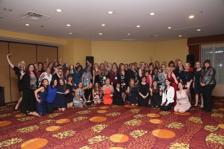 A few of the many women in the moving industry from the AMSA 2017 Education Conference & Expo.